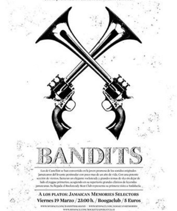 Rocksteady Beat Club: Bandits i Jamaican Memories Dj´s en Granada