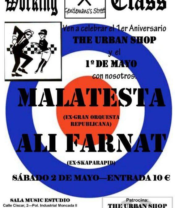 Ali Farnat + Malatesta en concert
