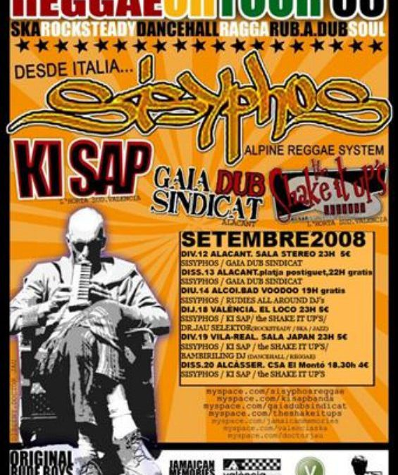 International reggae on tour 08
