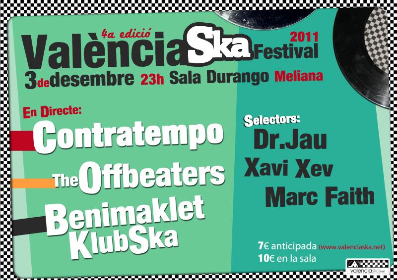 Ja està ací el 4t valència ska festival!