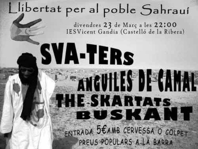 SKAHARA: SKA SOLIDARI AMB DEBUT DE THE SKARTATS